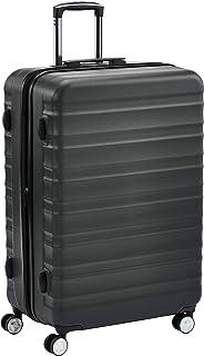 حقيبة بهيكل صلب وعجلات من امازون بيسيكس مع قفل تي اس ايه - 28 انش، رمادي