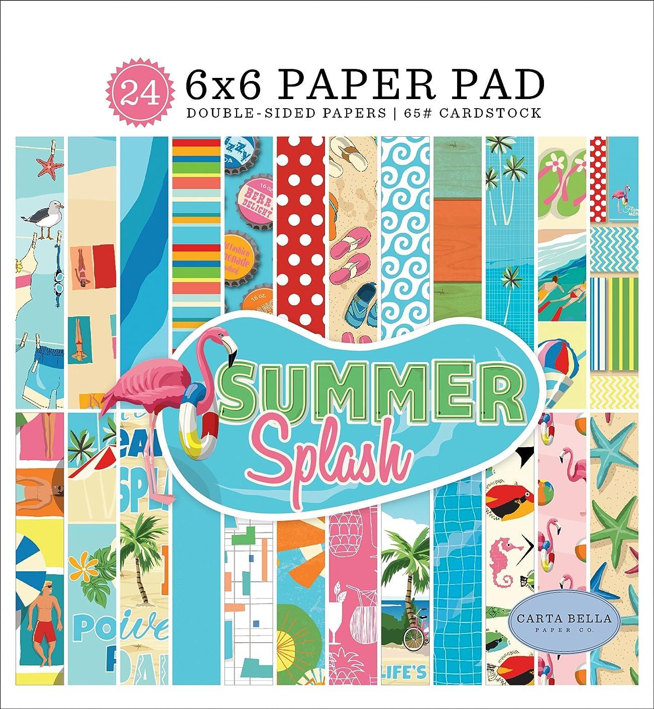 Carta Bella Paper Company Summer Splash 6x6 Paper Pad