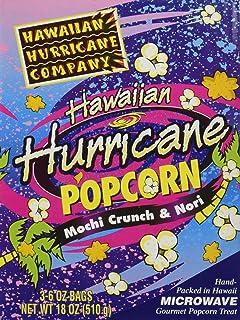 3pk Hawaiian Hurricane Microwave Popcorn Gift Box
