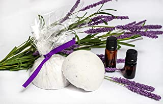 Inviting Effects All Natural Essential OIl Large, Long Lasting, Stronger Scent Shower Steamers, Shower Bombs, Shower Melts and Shower Fizzies. Set That's Made in the USA