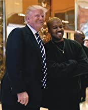 President Donald J Trump and Kanye West Poster Art Photo Free Thinkers Posters Artwork 11x14