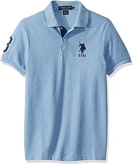 U.S. POLO ASSN. Men's Short Sleeve Shirt with Applique