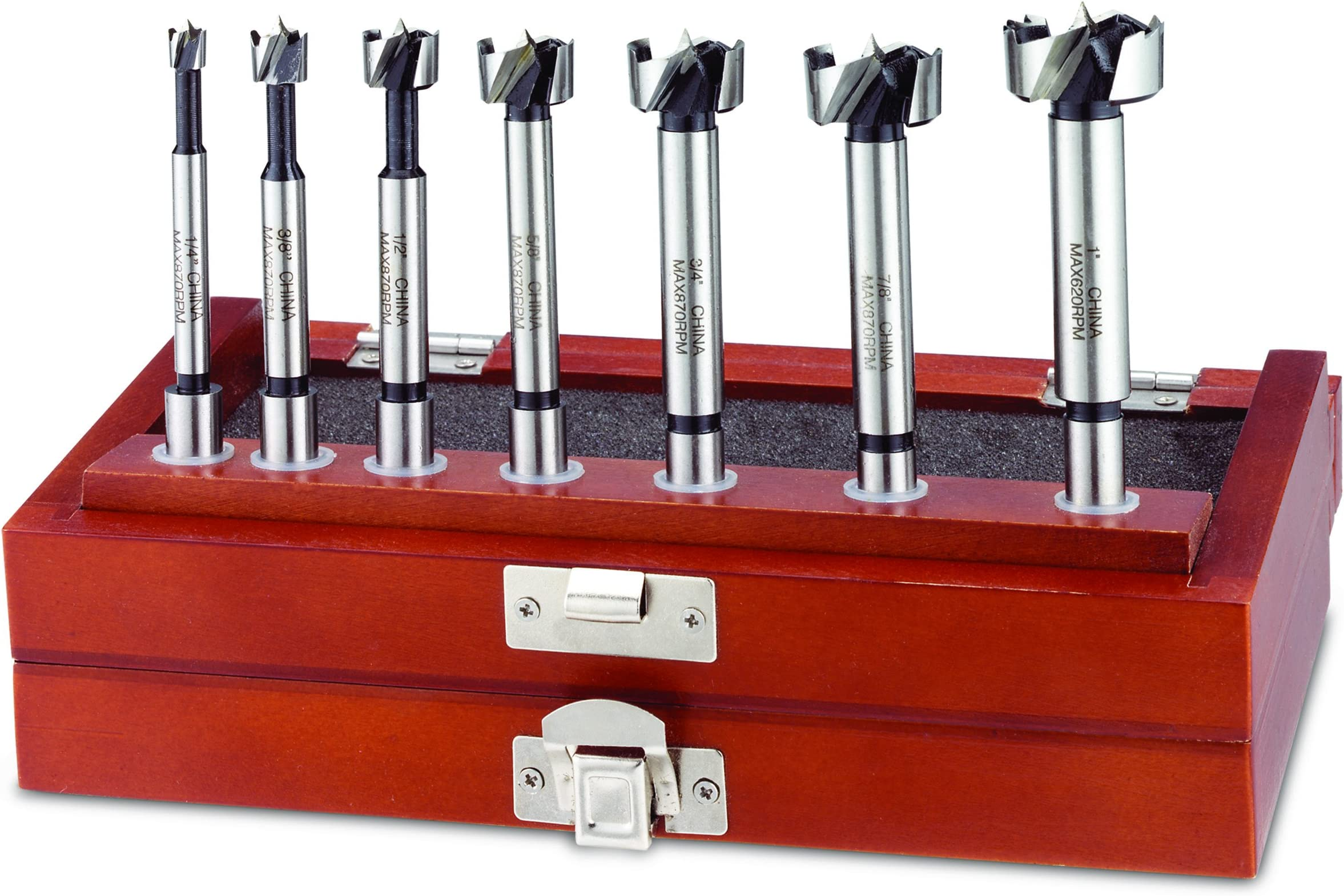 7-Piece Forstner Bit Set