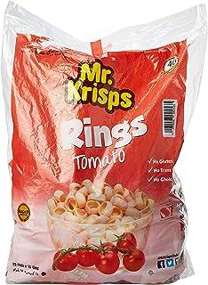 Mr Krisps Potato Rings Tomato Flavour, 25 x 15 gm