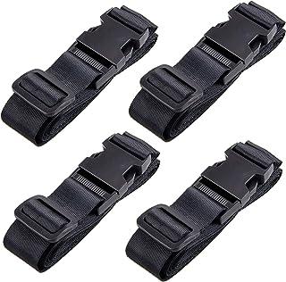 TRIWONDER Luggage Strap Adjustable Suitcase Straps Travel Belt Accessories 4 Pack, 5.9ft