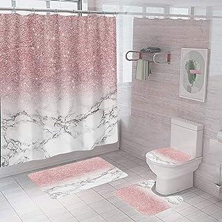 Amazon Com 25 To 50 Pink Bathroom Accessory Sets Bathroom Accessories Home Kitchen