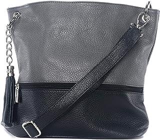b76eb0a012 Amazon.fr : sac a main - cuir veritable - fabrique en italie ...