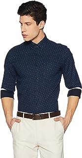 Diverse Men's All Over Printed Slim Fit Formal Shirt