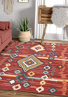 Best red tribal rug Reviews