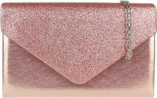 Borse Girly Glitter Flap Shimmer Pochette