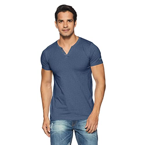 9aadf2857cf Denim T Shirts: Buy Denim T Shirts Online at Best Prices in India ...