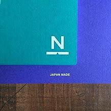 ノンブルノート「N」(04)ピーコックグリーン×ロイヤルブルー