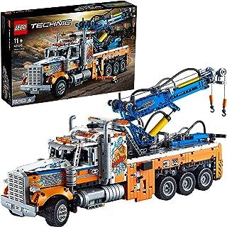LEGO 42128 Technic Robuuste Sleepwagen Met Kraan En Bouwstenen, Bouwtechniek Voor Kinderen, Speelgoed Vrachtwagen, Cadeau ...