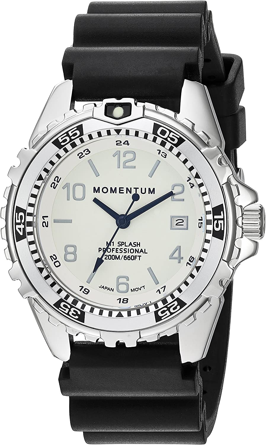 Free shipping anywhere in the nation Momentum's Unisex Now on sale M1 Splash Watch Water 200m ft 660 Resistan