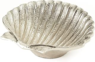 Elegance Nickel Plated Aluminium Shell Dish, 5.5