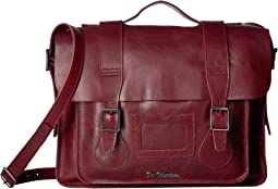 "Dr. Martens 15"" Leather Satchel"