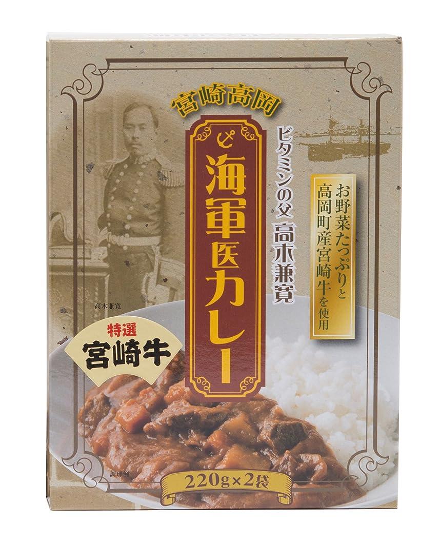 宮崎高岡 海軍医カレー(220g×2パック)