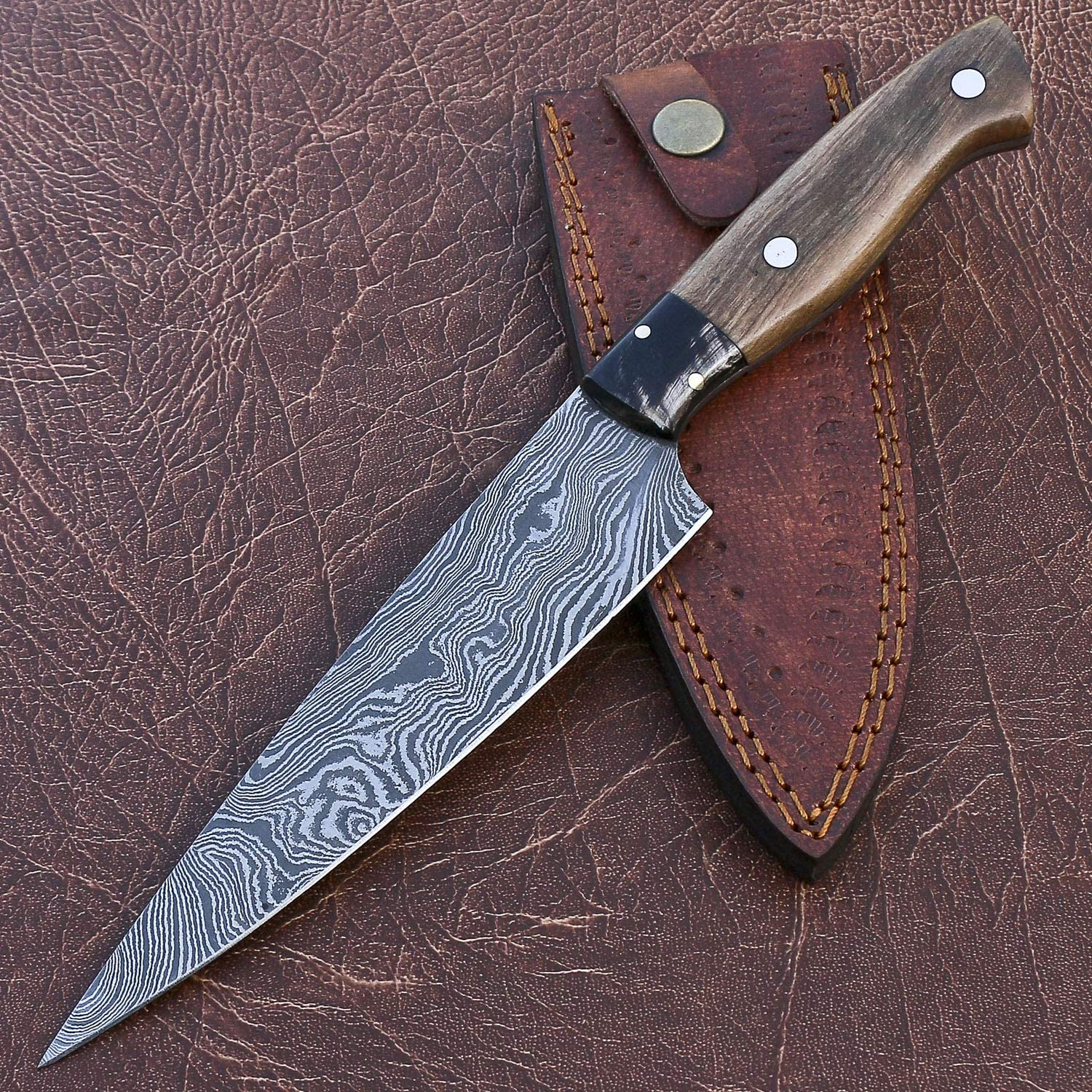 Handmade Damascus Steel NEW before selling Chef Super Special SALE held Kitchen wit Knife Home Professional