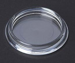 4 stuks meubelonderzetters, meubelbescherming vloerbescherming kunststof transparant binnendiameter 50 mm, voor gladde vlo...