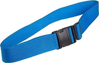 (Blue) - Lewis N Clark 60BLU Quick-Release Luggage Belt - Blue