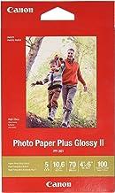 Canon Plus Glossy II PP-301 De alto brillo Blanco - Papel