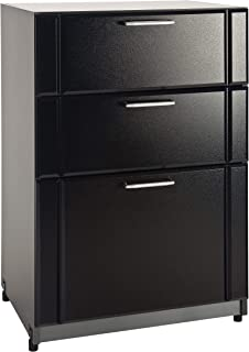 "37"" H x 24"" W x 18.63"" D 3 Drawer Base Cabinet"