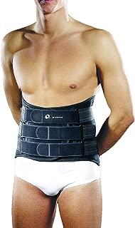 M-Brace AIR M-Spine Lumbar-Sacral Brace, Grey, Large