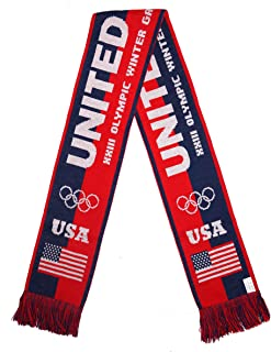 UNITED STATES 2018 Olympic Winter Games Fans Scarf
