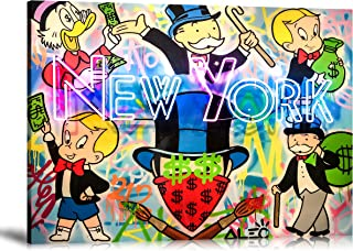 ALEC Monopoly HD Printed Oil Paintings Home Wall Decor Art On Canvas New York 24x32inch Unframed