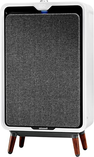Bissell air320 Smart Air Purifier with HEPA and Carbon Filters for Large Room and Home, Quiet Bedroom Air Cleaner for...