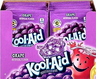 Kool Aid Grape Drink Mix, Makes 2 Quarts (0.14 oz Packets, Pack of 96)