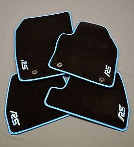 CAR SEAT COVERS DIRECT MK3 Floor Mats 17mm Soft Deep Pile Carpet  Coloured Edge Leatherette Binding