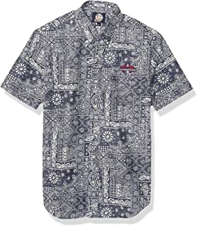 Men's Boston Red Sox MLB Tailored Fit Hawaiian Shirt