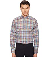 Eton - Contemporary Fit Madras Plaid Shirt