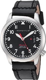 Women's 1M-SP19BS3B Flatline 36 Analog Display Quartz Black Watch