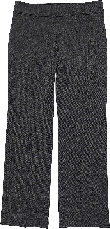 Amazon Com Ann Taylor Loft Pantalones De Pierna Recta Texturizados Para Mujer Clothing