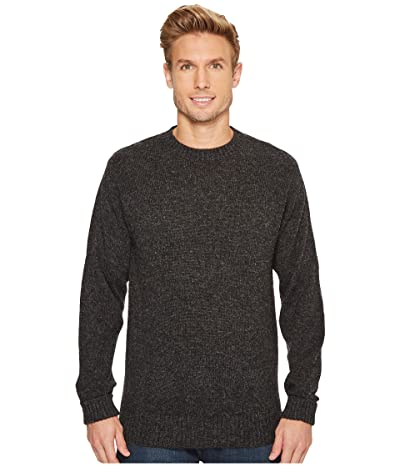 Pendleton Shetland Crew Sweater (Black Heather) Men