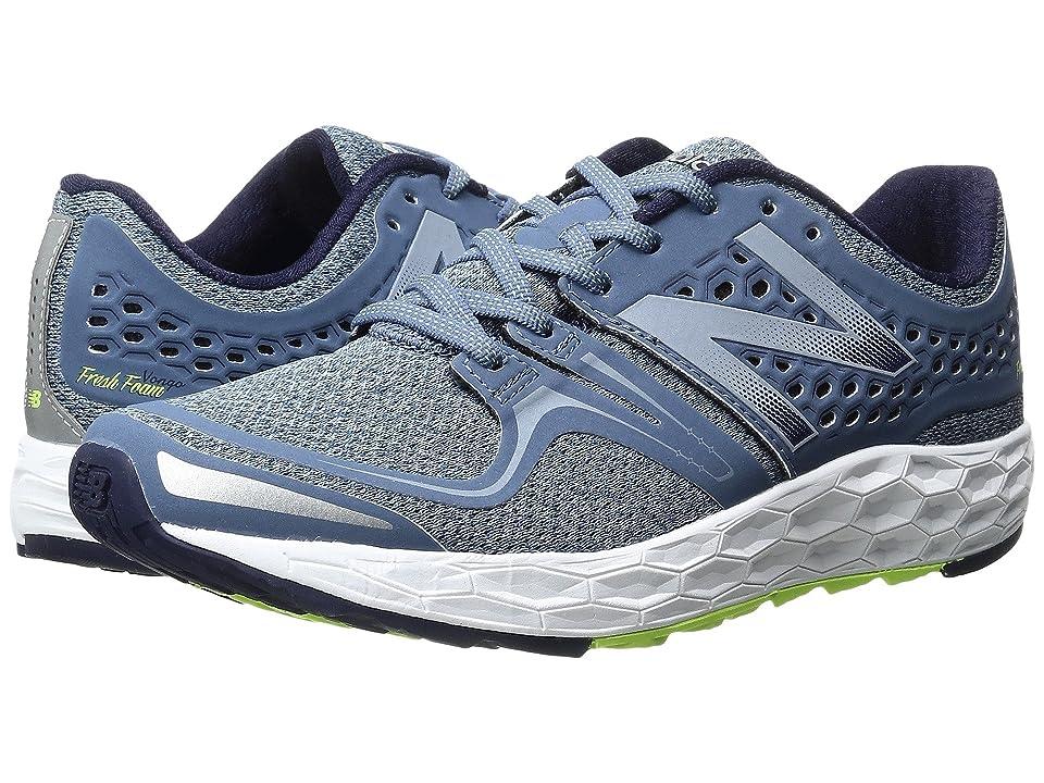 New Balance Fresh Foam Vongo (Dark Porcelain Blue/Lime Glo) Women's Running Shoes