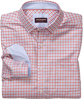 Men's Textured Check Patterned Shirt