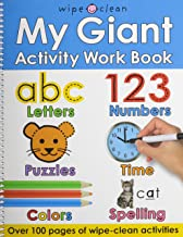My Giant Activity Work Book (Wipe Clean)