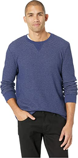 Fleck Thermal Crew Neck Tee