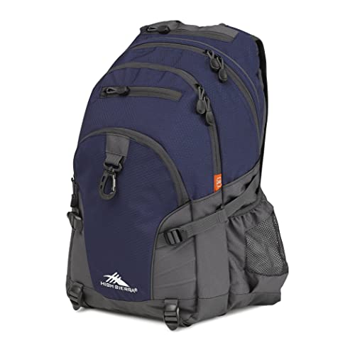 High Sierra Loop Backpack - with Compression Straps - Ideal Backpack for Men and Women -