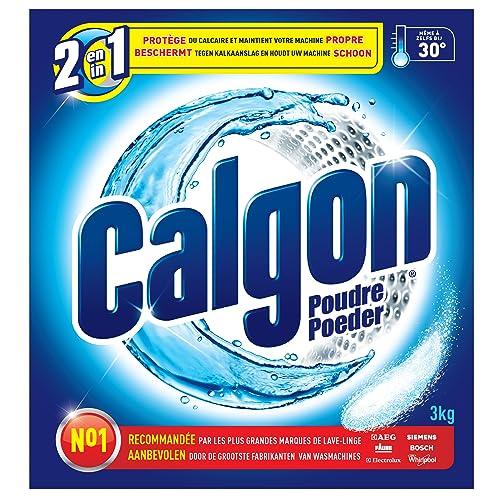 Calgon Anti Calcaire Poudre 2 en 1 Protection et Propreté 3 kg
