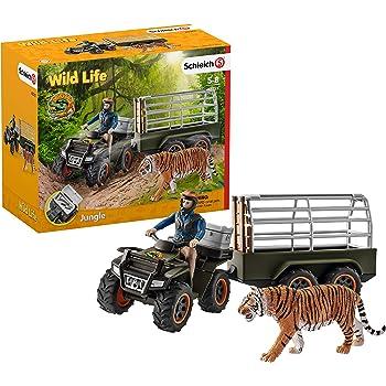 Schleich 42477-Wild Life-Jeu de tapis