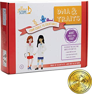 YELLOW SCOPE - DNA & Traits Science Kit: from Codes to Creatures