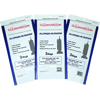 Hoover Type A Kenmore 50378 Bissell Style 2 Singer SUB-3 HEMS-1 Vacuum Bags Vac