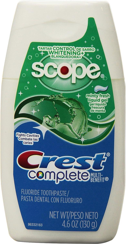 Crest Complete Tartar Washington Mall Control Whitening Scope Liquid To Gel El Paso Mall Plus
