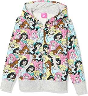 Amazon Brand - Spotted Zebra Girls Disney Star Wars Marvel Frozen Princess Fleece Zip-Up Sweatshirt Hoodies