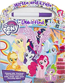 Hasbro - My Little Pony - Write-and-Erase Look and Find Wipe Clean Board Book - PI Kids
