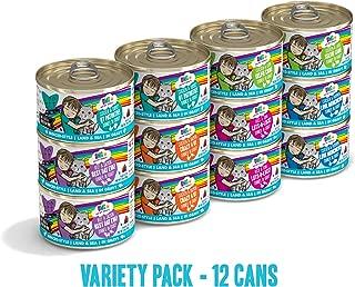 Weruva B.F.F. OMG - Best Feline Friend Oh My Gravy! Grain-Free Natural Wet Cat Food Cans, Land & Sea Recipes in Gravy